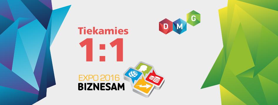 Biznesa risinājumu un kontaktu gadatirgus EXPO BIZNESAM 2016